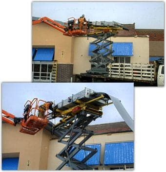 On Site Metal Roof Fabrication, Rollforming