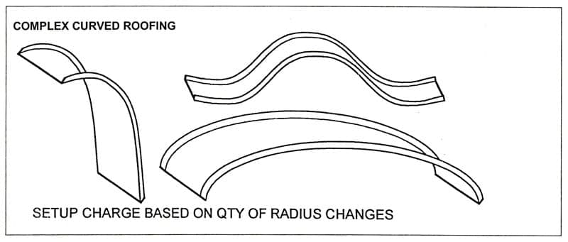 ACS Complex Curved Roofing