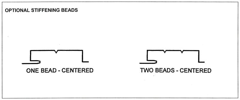 ACS Optional Stiffening Beads